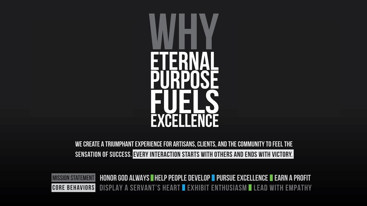 Why Eternal Purpose Fuels Excellence
