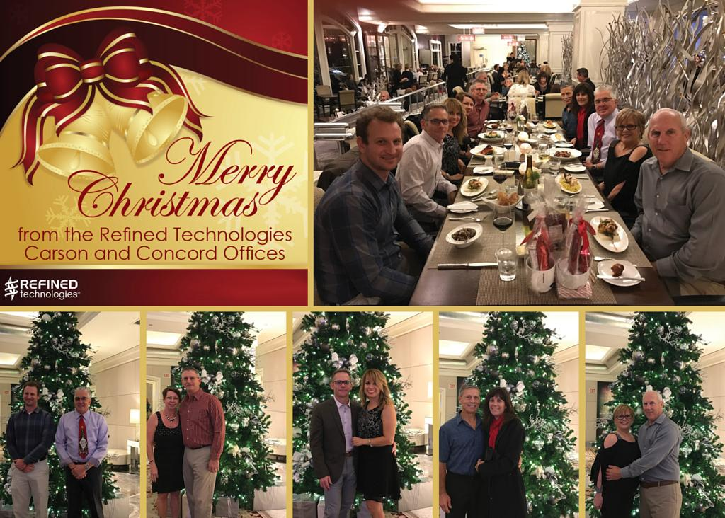 Carson and Concord Offices Celebrated the Holidays