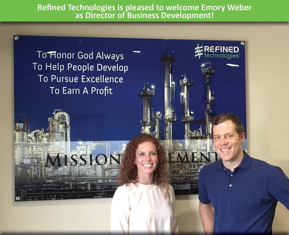 Emory Weber - Director of Business Development