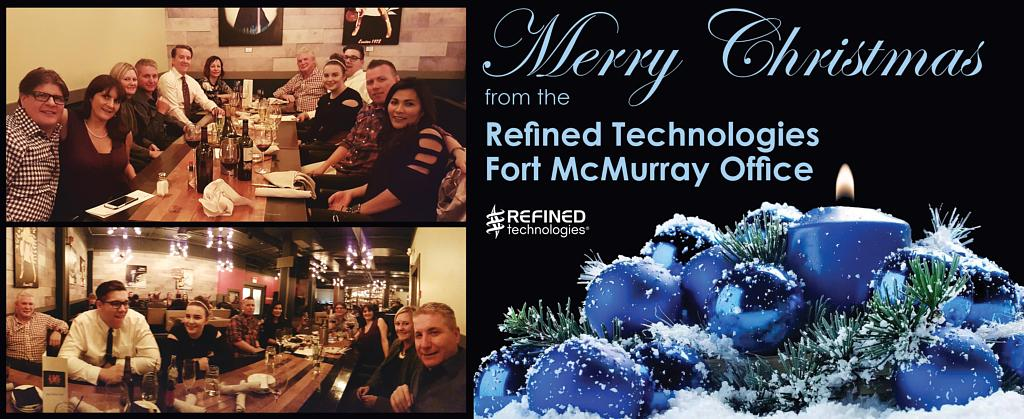 Fort McMurray Office Celebrating the Holidays