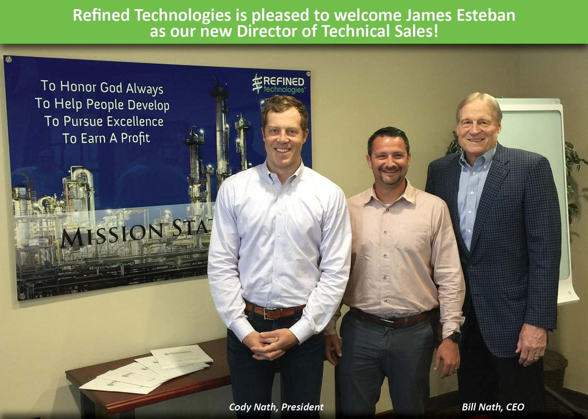 James Esteban Our New Director of Technical Sales
