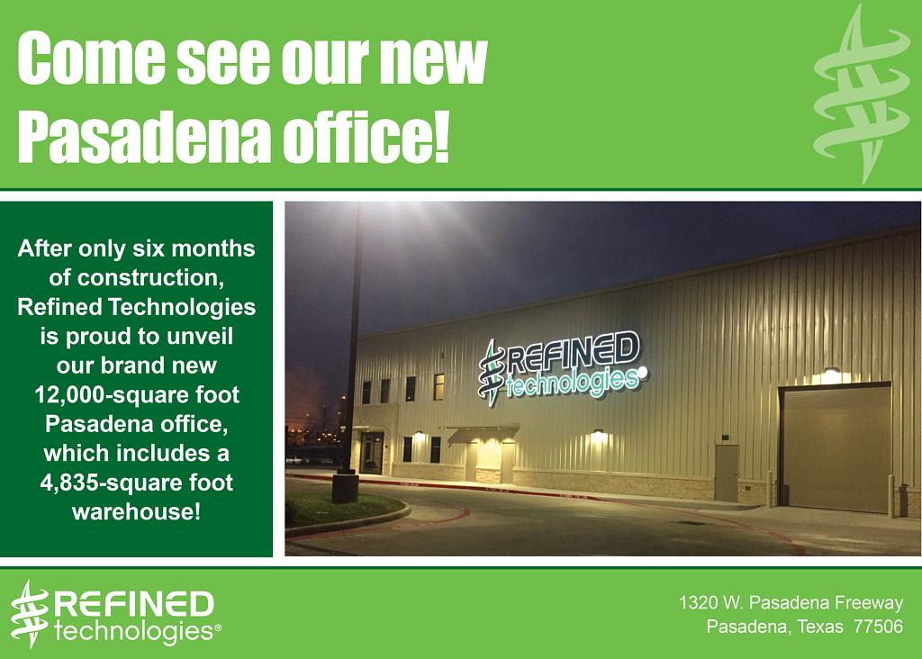 Come see our new Pasadena Office!
